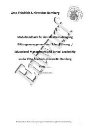 Personalentwicklung/ Personalmanagement 20 ECTS