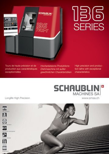 BAUREiHE 136 - Schaublin Machines SA