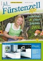 Fürstenzell life - Ausgabe 2/2011 - April/Mai - Fuerstenzell.de