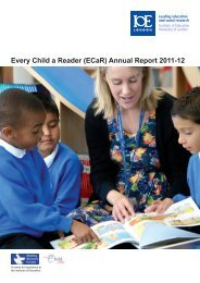 Every Child a Reader (ECaR) Annual Report 2011-12