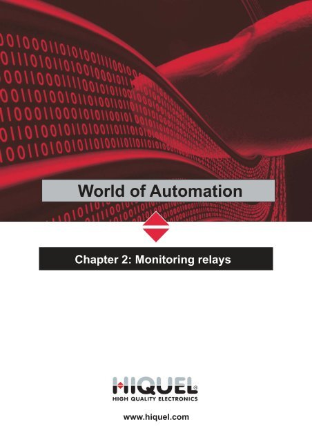 Chapter 2: Monitoring relays - Hiquel