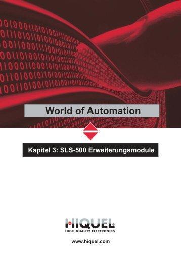 SLS-500 Erweiterungen - Hiquel