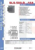SLS-500 Erweiterungen - Hiquel - Seite 4