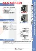 SLS-500 Erweiterungen - Hiquel - Seite 7