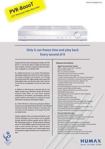 Humax Foxsat manual