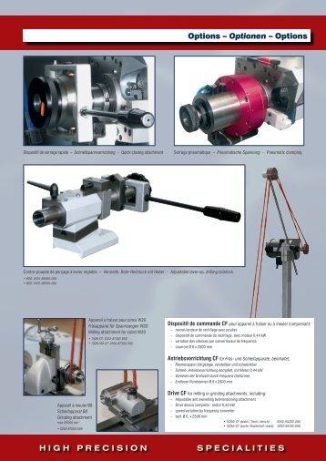 102Mi-cF - Schaublin Machines SA