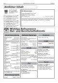 Amtsblatt der Gemeinde Inzigkofen Inhalt - Seite 2