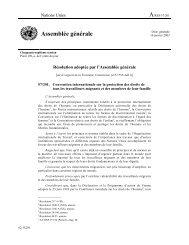 Convention internationale sur la protection des droits de