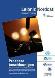 Leibniz-Nordost no. 7 (07/2008, PDF, 6.5 - Leibniz-Institut für ...