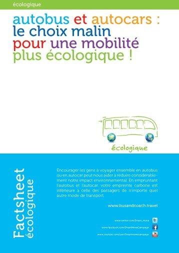 autobus et autocars : le choix malin pour une mobilité plus ... - IRU