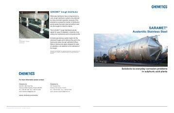 SARAMET® - Jacobs Engineering