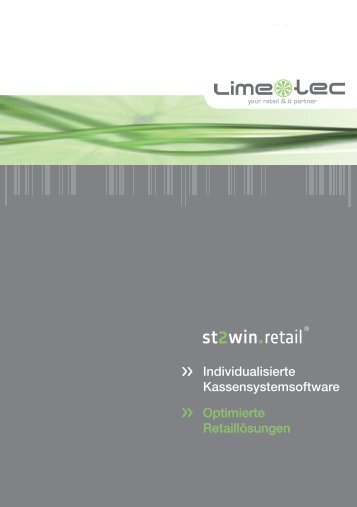 st2win retail - Lime - Tec AG