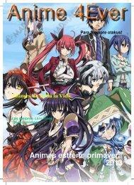 Animes estreno primavera 2013