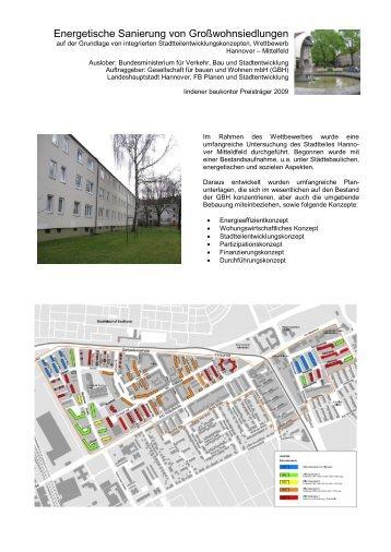 Energetische Sanierung von Großwohnsiedlungen - lindener ...