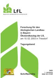 gelangen Sie zum ausführlichen Tagungsband - Bayerische ...