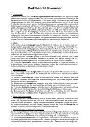 Marktbericht November 2011 - Bayern