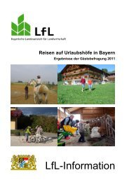 Reisen auf Urlaubshöfe in Bayern 2011 - Bayerische Landesanstalt ...