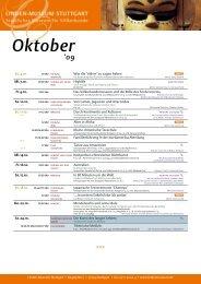 Veranstaltungsprogramm als pdf-Download - Linden-Museum ...