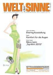 Welt der Sinne - Ausgabe 1/2013