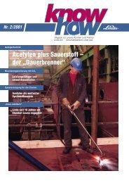 Ausgabe 02 2001 (PDF, 731,3Kb) - Linde Gas