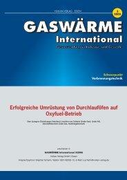 Erfolgreiche Umrüstung von Durchlauföfen auf Oxyfuel ... - Linde Gas