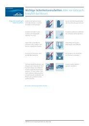 Sicherheitshinweise ICEBITZZZ® Fun Cup (PDF 750 KB) - Linde Gas