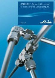 LASERLINE Gasversorgung - Linde Gas