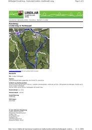 Page 1 of 6 Hohkeppel Liederweg - Gemeinde Lindlar - traditionell ...