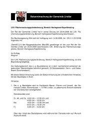 Bekanntmachung vom 08.09.2008 LVII. FNP ... - Gemeinde Lindlar