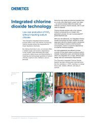 Integrated chlorine dioxide technology