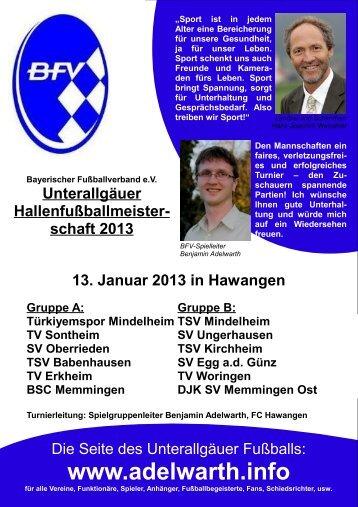 Spielplan - BSC Memmingen