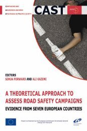 A theoretical approach to assess road safety campaigns - CAST