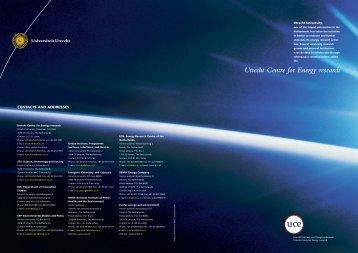 UCE brochure omslag
