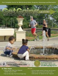 Get Going Guide - Charlotte-Mecklenburg County