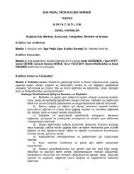 Egepedal Spor Kulübü - Egepedalsporkulubu.com