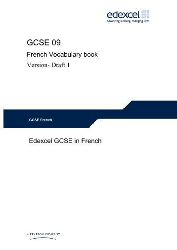 GCSE 09 - Edexcel