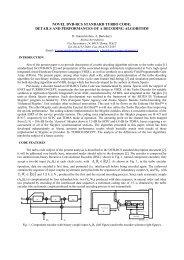 Novel DVB-RCS Standard Turbo Code - Esa