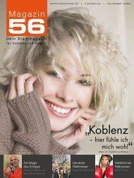 Bernd W. Klöckner im Magazin 56 - FAF Verlag
