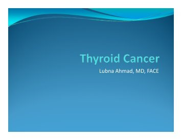 Lubna Ahmad, MD, FACE