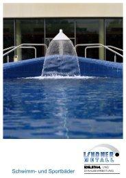 Prospekt Schwimmbadausstattung - Lindner Metall