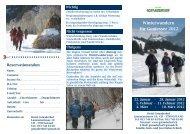 Winterwandern für Geniesser 2012 - Hotel Gstaaderhof