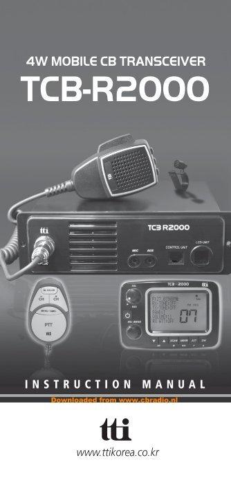 Инструкция Tcb-550 - фото 4
