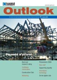 Outlook 14 Artwork - Glasgow Caledonian University