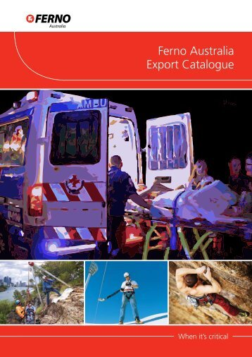 Ferno Australia Export Catalogue