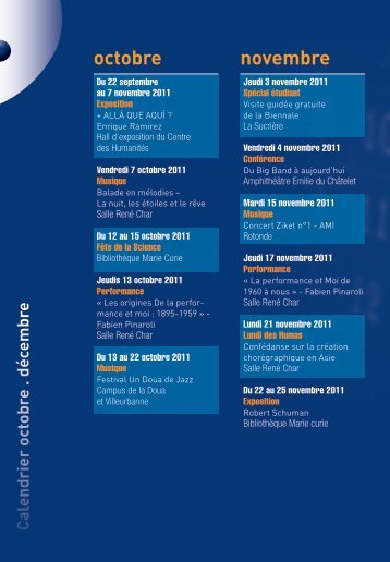 octobre novembre - En vue - INSA de Lyon