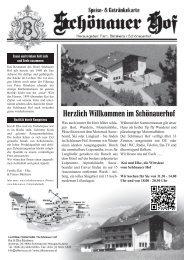Blick in unsere Speise - hotel-schoenauerhof.com