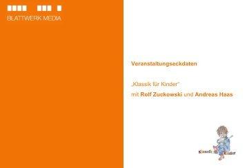 """""""Klassik für Kinder"""" mit Rolf Zuckowski und ... - Blattwerk Media"""