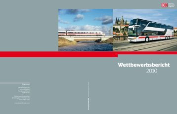 Wettbewerbsbericht 2010 - Deutsche Bahn AG