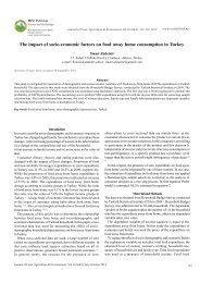 The impact of socio-economic factors on food - World-food.net