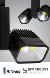 twin Soft Square Accent (2) 1600lm 50W - Intense Lighting